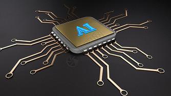 AI人工智能电路板图片