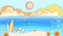 旅行海滩图片