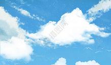 清新蓝天背景图片