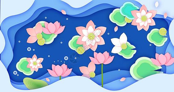 夏日花卉素材图片