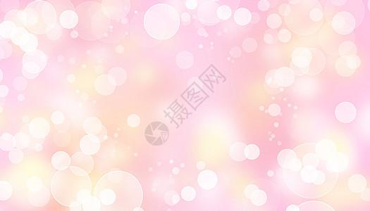 粉红光圈闪光抽象背景图片