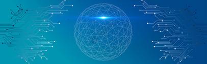 蓝色科技地球背景图片