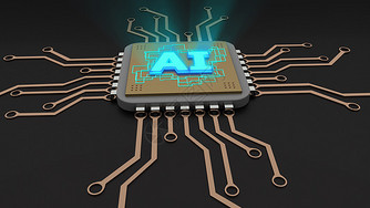 AI人工智能芯片图片