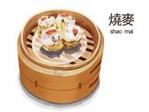 广东特色美食烧麦图片