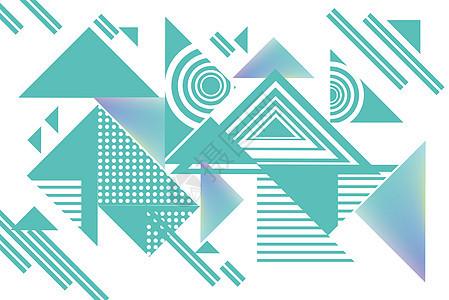 三角简元素图片