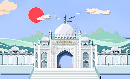 回族伊斯兰教建筑图片