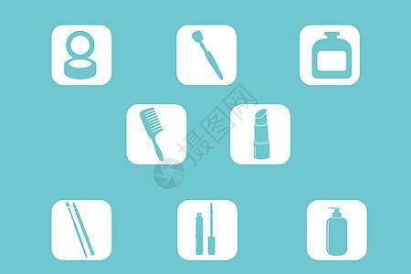 化妆品图标图片