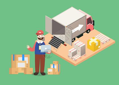 货物运输图片