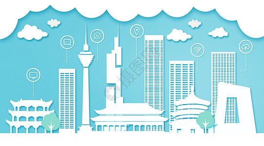 北京扁平互联都市建筑图片