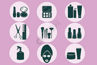 化妆品图标400147237图片
