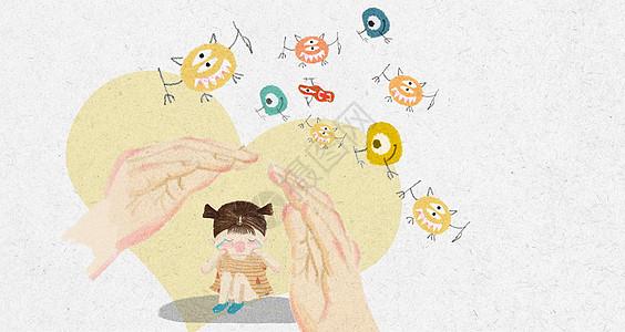 预防儿童感冒图片