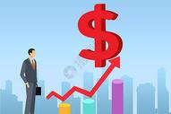 飞翔在金融世界图片