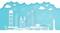 重庆扁平互联都市建筑图片