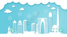 苏州扁平互联都市建筑图片