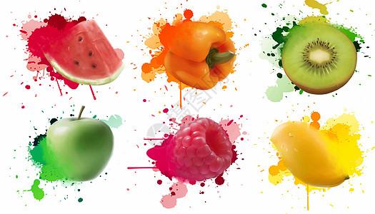 夏天水果图片