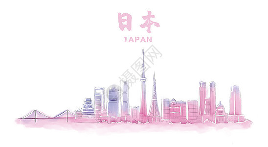 日本地标建筑图片