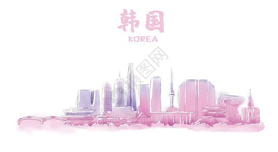 韩国地标建筑图片