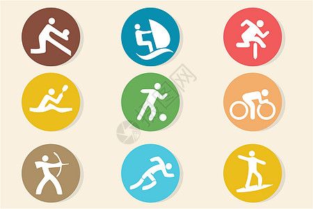 体育运动图标图片