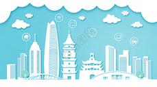 宁波扁平互联都市建筑图片