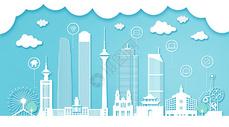 天津扁平互联都市建筑图片
