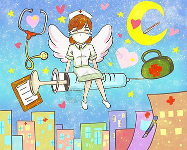 白衣天使护士图片
