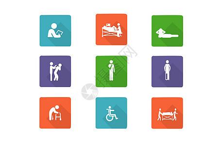 医疗相关职业类图标图片