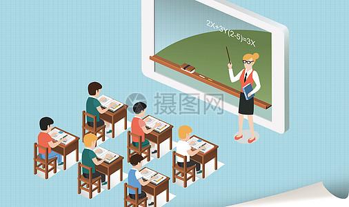 教育学习背景图片