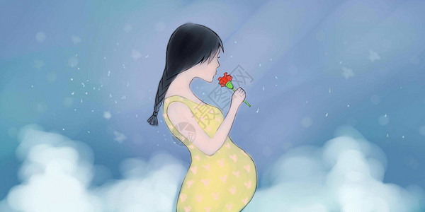 母亲节孕育生命主题图片