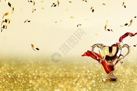 奖杯背景图片