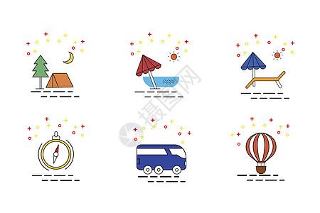 旅行图标图片