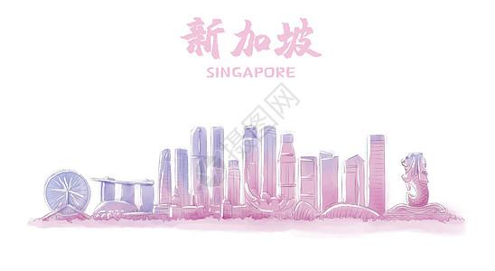 新加坡地标建筑图片