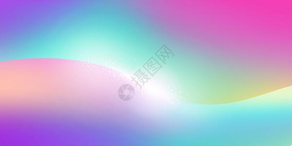 色彩流体渐变背景图片