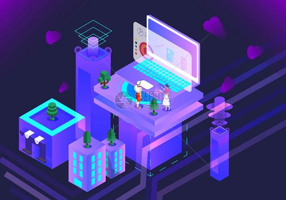 智能科技商务办公图片