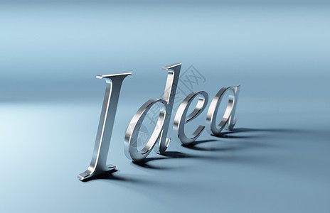 创意思想概念背景图片