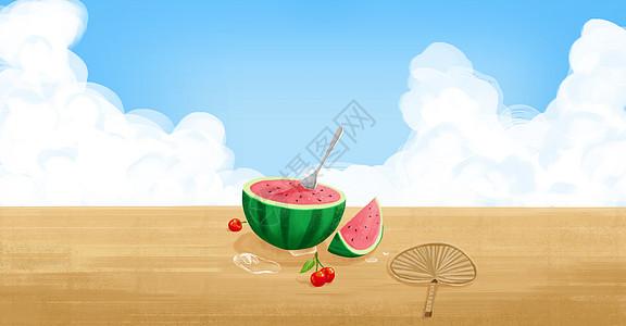 夏日时光图片