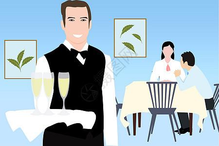 餐厅服务图片