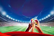 世界杯创意背景图片