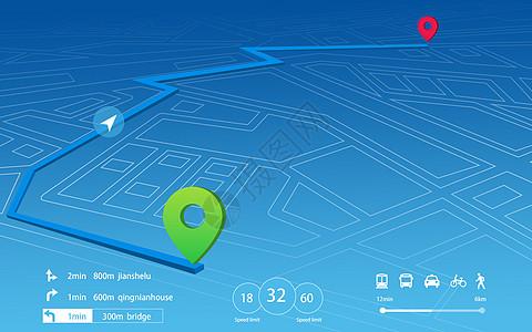 科技定位背景图片