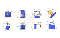 商务办公MBE图标图片