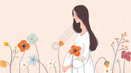 怀孕的母亲图片