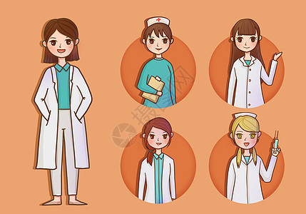 护士和医生图片