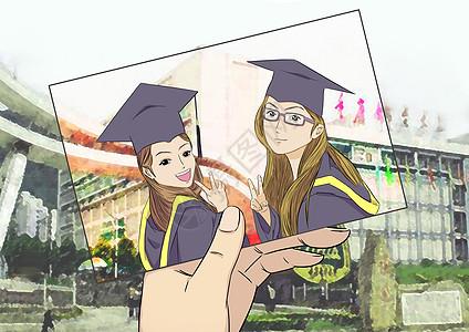 毕业留念图片
