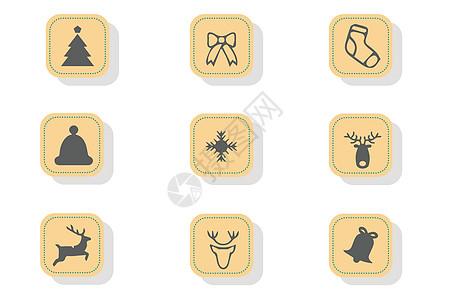 圣诞节图标图片