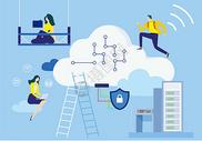云数据安全保护图片