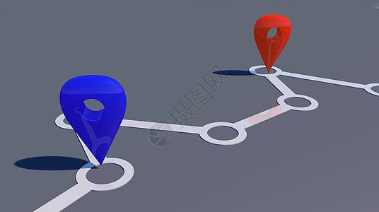 地图定位图片