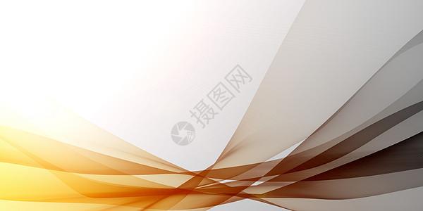 橙色灰色渐变线条图片