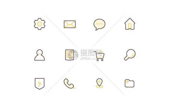 线型icon图片