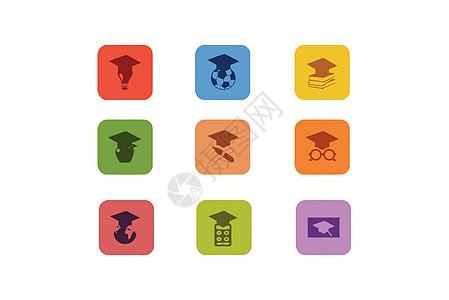 教育类图标图片