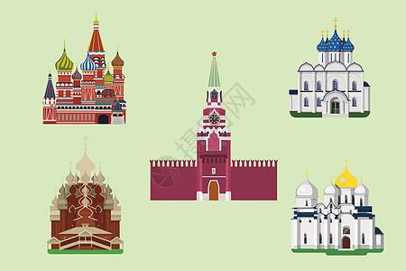 俄罗斯背景素材图片