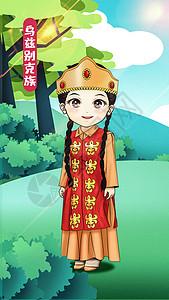 乌兹别克族竖版图片